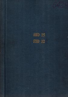 FND25 - FND32-Фреза -техническа документация